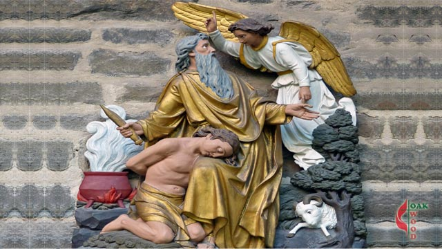 Abraham, Isaac, the Angel, and the Ram | Oakwood United Methodist Church, Lubbock Texas