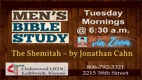 Men's Tuesday Morning Bible Study, Mystery of The Shemitah by Jonathan Cahn | Oakwood United Methodist Church, Lubbock Texas